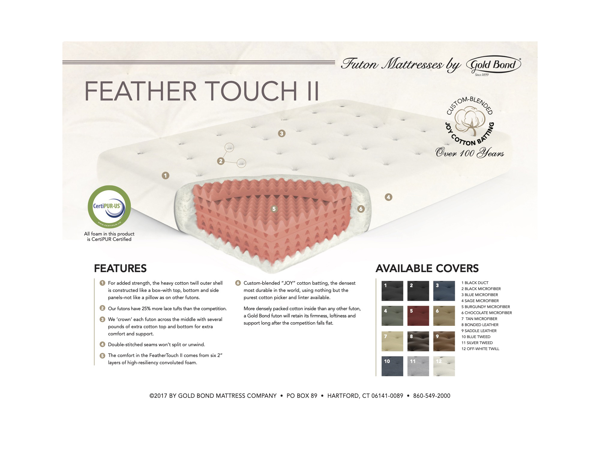 feather touch 2 futon